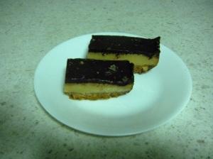 Salted Caramel Choc Slice