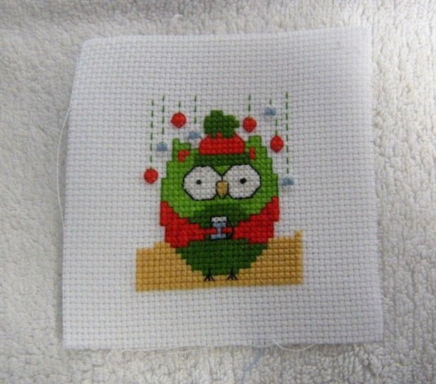 Cross stich Owl