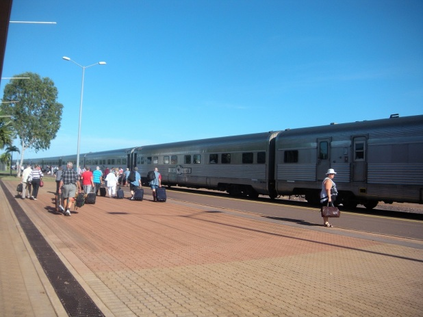 Boarding The Ghan Quilts Cats And Me
